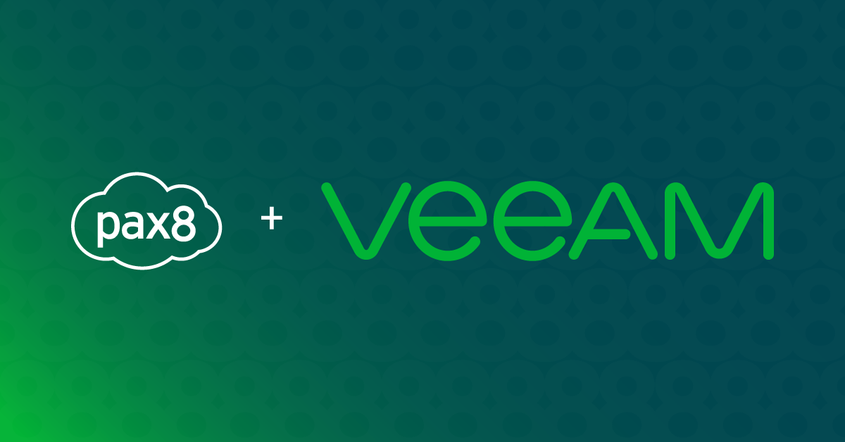 Pax8 and Veeam Announce New Partnership Image